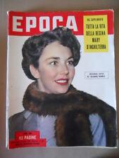 EPOCA n°130 1953 Tutta la vita della Regina Mary D' Inghilterra  [G771]