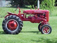 McCormick Farmall A & B Tractor Parts Manual