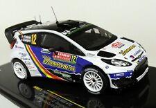 Ixo 1/43 Scale - RAM571 Ford Fiesta RS WRC Rally Monte Carlo 2014 Diecast Car