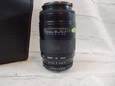 Sigma Auto Focus 55 mm f= 75- 200 mm multi coated zoom Japan 1:3.8 with case EF