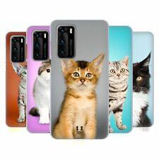 Head Case Designs Popular Cat Breeds Gel Case For Huawei Phones