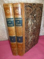 LES HERMITES EN PRISON 2/2 vols E.Jouy et A.Jay ( rare)