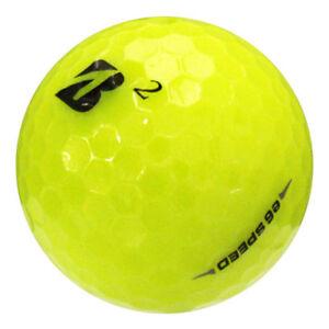 12 Bridgestone e6 Speed Yellow Near Mint Used Golf Balls AAAA