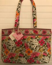 Vera Bradley Retired Rare Tea Garden East West Tote Bag Purse