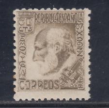 Spanien (1934) Neu ohne Briefmarkenfalz MNH - Edifil 680 (30 Cts) Ramon Y Cajal