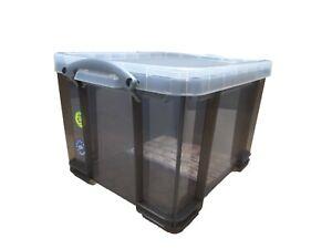 Really Useful Storage Box 35 Litre Trans Smoke