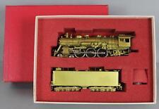 Key Imports Samhongsa Brass HO Train AT&SF Santa Fe 3400 4-6-2 Locomotive