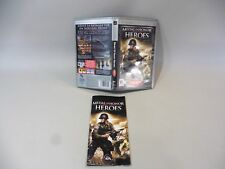 Medal of honor heroes psp empty box + instructions