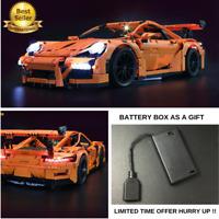 LED Light Kit For LEGO 42056 Porsche 911 GT3 RS Technic + BATTERY BOX AS A GIFT