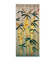 Bamboo Beaded Hanging Curtain Divider Room Wall Doorway Patio Porch Home Art