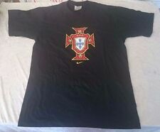 Authentic Nike Portugal Soccer football T shirt Blue Small