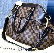 100% guaranteed authentic Louis Vuitton Trevi PM purse in Damier Ebene