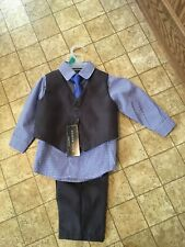 Andrew Fezza Infant 4- Piece Suit NWT Size 12 Month.