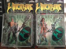 WITCHBLADE Sara Pezzini and Kenneth Irons Action Figures Top Cow 1998 NEW