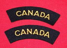 Royal Canadian Navy-CANADA-Gold/Black shoulder flashes