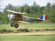 1/6  Scale French WW-II Nieuport 28 Biplane Plans, Templates and Instructions