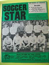 Soccer Star Magazine, 14.10.1966. Team pictures of Fulham and Rochdale