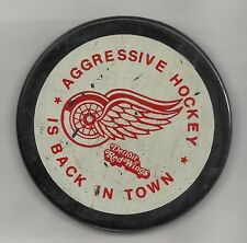Detroit Red Wings Tubby's Hockey Puck Viceroy Old Logo