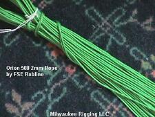 2mm x 100 ft Grn Orion 500 - FSE Robline rope 2mm polyester cord