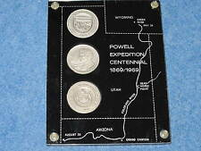 1869-1969 Powell Expedition Centennial Wyoming Utah Arizona Silver Set B7336