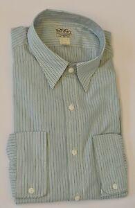 New $225 Polo Ralph Lauren DOUBLE RL RRL Men's Striped Cotton Dress Shirt