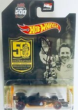 2019 Indy 500 Mario Andretti Signed 50th Anniversary Hot Wheels 1:64 Diecast