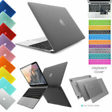 For Macbook Hard Cove Case Shell Air 13/11 Pro 13/15 Retina 12 + Keyboard Cover