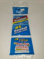 1992 Topps ~ Major League Baseball ~ 45 Picture Cards ~ Unopened & Sealed!