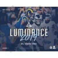 2019 Panini Luminance NFL Football Cards (Base or Rookies) Pick From List