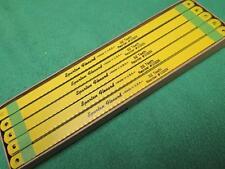 "40 SPARTAN FLEXARD HACK SAW BLADE 10"" 32 TOOTH BI METAL FINE CUTTING HACKSAW"