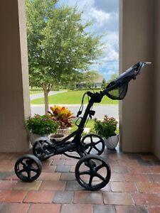 Clicgear Model 8.0 4 Wheel Folding Golf Push Cart - Black - Local pickup only