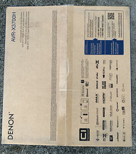 DENON AVR-X3700H 9.2 Home Theater Receiver AVRX3700H with HEOS