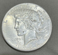 New listing 1926 S Peace Silver Dollar Genuine