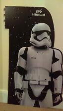 TESCO Aisle Display STAR WARS Episode 7 The Force Awakens STORMTROOPER Cardboard