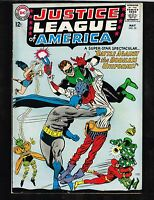 Justice League of America #35 ~ 1965 Bodiless Uniforms (5.5) WH