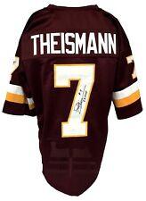 "Joe Theismann Autographed Pro Style Burgundy Jersey ""'83 MVP"" JSA Authenticated"