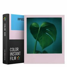 8 IMPOSSIBLE INSTANT COLOR FILMS FOR 600 POLAROID CAMERAS WITH LILAC FRAMES