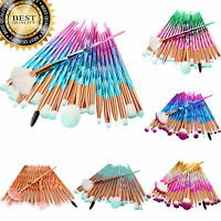 US Delivery Professional 20PCs Makeup Brush Brushes Set Foundation Cosmetic Tool