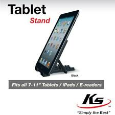 """KS Universal Multi-Angle Stand Holder for Android & E-Reader Tablets 7"""" to 11"""""""