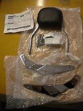 NOS Cobra Sissy Bar with Pad Brackets & Hardware 01 & Up Honda Shadow Spirit 750