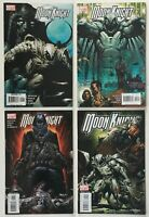 Moon Knight #s 1, 3, 4, and 5 Lot of 4 VF+ to NM- Marvel Comics 2006