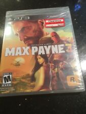 Max Payne 3 Sony PlayStation 3  Brand New Factory Sealed