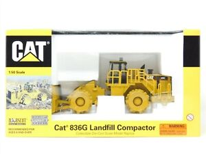 O 1/50 Scale Norscot 55074 CAT 836G Landfill Compactor Sealed