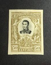 Haiti 1902 50c General Petion Imperf H original gum!