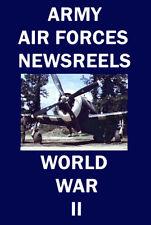 USAAF Newsreels 1941 WWII DVD