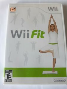 Wii Fit 2008 Nintendo Wii Good Condition COMPLETE