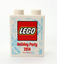 LEGO Duplo promotion brick rare Holiday Party 2014