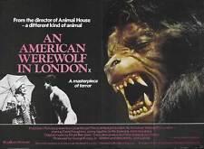 AN AMERICAN WEREWOLF IN LONDON Movie POSTER 30x40 David Naughton Griffin Dunne