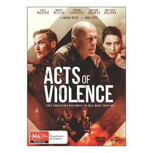 Acts Of Violence DVD New Region 4 Aust. - Bruce Willis, Cole Hauser - Free Post