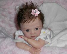 "CUSTOM Reborn doll Marita Winters' MICRO preemie NESSA Baby Girl 10"" *Junebird*"